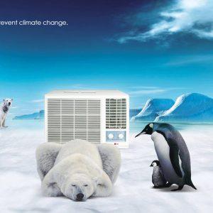 Oldalfali mono klíma 5 kW